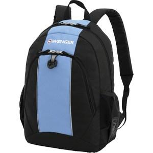 Рюкзак дорожный Wenger чёрный/голубой (17222315)