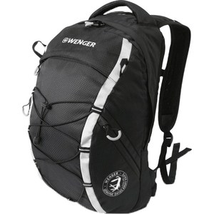 Рюкзак дорожный Wenger черный/серебристый (30532499)