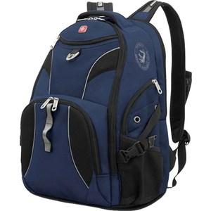 Рюкзак дорожный Wenger синий/черный (98673215)