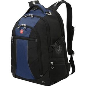 Рюкзак дорожный Wenger черный/синий (3118302408)