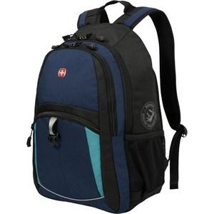 Рюкзак дорожный Wenger синий/черный/бирюзовый (3191203408) miniland нагреватель бутылочек дорожный warmy travel цвет бирюзовый