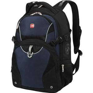 Рюкзак дорожный Wenger чёрный/синий (3263203410) рюкзак wenger чёрный синий 3263203410