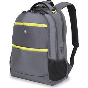 Рюкзак дорожный Wenger серый/салатовый (6629446408) см, 28 л цена и фото