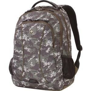 Рюкзак дорожный Wenger зеленый камуфляж, 34 л (6659600408) стоимость