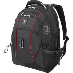 Рюкзак дорожный Wenger чёрный/красный (6677202408) 38 л wenger wenger рюкзак для подростков 20 л чёрный красный