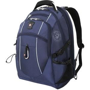 купить Рюкзак дорожный Wenger синий/серебристый (6677303408) 38 л дешево