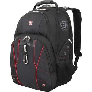 Рюкзак дорожный Wenger чёрный/красный (6939201408) 29 л wenger wenger рюкзак для подростков 20 л чёрный красный