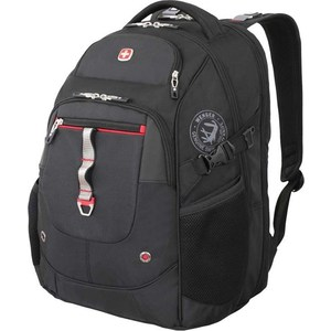 Рюкзак дорожный Wenger чёрный/красный (6968201408) 34 л цена и фото