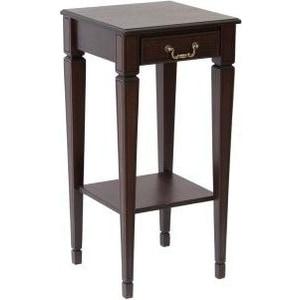 Подставка Мебелик Васко В 46Н темно-коричневый/патина