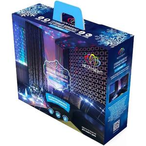 Готовый набор Neon-Night Гостиная, цвет гирлянд Синий