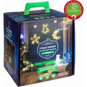 Готовый набор Neon-Night Спальня, цвет гирлянд Зелёный зелёный цвет 6 9 months