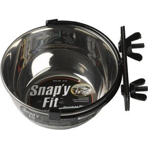 Миска Midwest Snapy Fit Stainless Steel Bowl 10 oz. для клеток и вольеров нержавеющая сталь 300мл