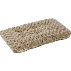 Лежанка Midwest Ombre Mocha Swirl Fur Pet Bed 18 плюшевая с завитками 43х28 см мокко для кошек и собак