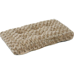 Лежанка Midwest Ombre Mocha Swirl Fur Pet Bed 22 плюшевая с завитками 53х31 см мокко для кошек и собак
