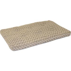 Лежанка Midwest Ombre Mocha Swirl Fur Pet Bed 36 плюшевая с завитками 89х58 см мокко для собак