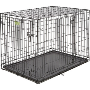 Клетка Midwest iCrate 42 Double Door Dog Crate 106x71x76h см 2 двери черная для собак