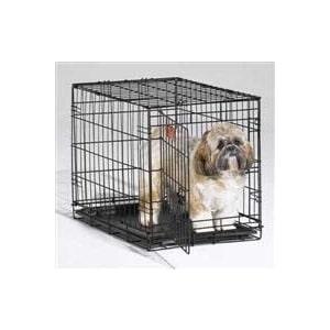Клетка Midwest iCrate 24 Dog Crate 61x46x48h см 1 дверь черная для собак