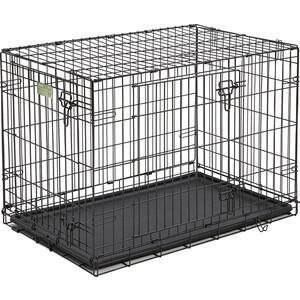 Клетка Midwest iCrate 36'' Double Door Dog Crate 91x58x64h см 2 двери черная для собак iCrate 36