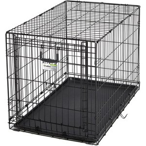 Клетка Midwest Ovation 36'' Single Door Crate 95x59x64h см с торцевой вертикально-откидной дверью черная для собак Ovation 36