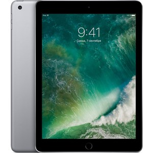 Планшет Apple iPad (2018) 32Gb Wi-Fi Space Gray (MR7F2RU/A) планшет apple ipad 9 7 128gb space gray wi fi bluetooth ios mr7j2ru a