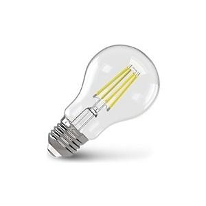 Филаментная светодиодная лампа X-flash XF-E27-FL-A60-6W-4000K-230V (арт.48038)