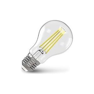 Филаментная светодиодная лампа X-flash XF-E27-FL-A60-8W-4000K-230V (арт.48045)