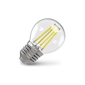 купить Филаментная светодиодная лампа X-flash XF-E27-FL-P45-4W-4000K-230V (арт.48021) по цене 198.5 рублей