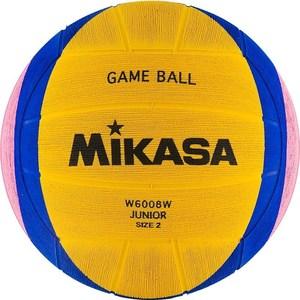 Мяч для водного поло Mikasa W6008W Junior р 2 мяч для водного поло mikasa w6609c жен размер