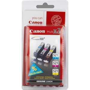 цена Kартридж Canon CLI-521 Multipack (2934B010)
