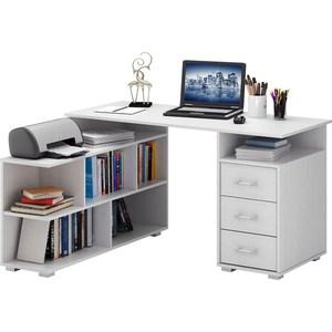 Стол Мастер Барди-1 (белый) МСТ-УСБ-01-БТ-16 стол мастер барди 2 орех мст усб 02 ор 16