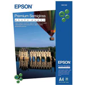 Epson Premium Semiglossy Paper (C13S041332) бумага epson c13s041330 premium semiglossy photo paper 100 8m 251г м2