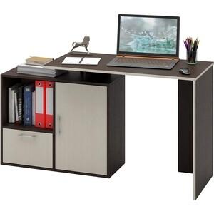 Стол Мастер Слим-3 (венге/дуб молочный) МСТ-ССЛ-03-ВМ-ДМ-16 стол письменный мастер экстер 9 венге дуб молочный мст стэ 09 вм дм 16