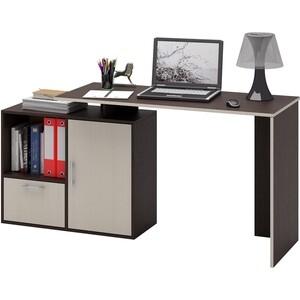 Стол Мастер Слим-4 (венге/дуб молочный) МСТ-ССЛ-04-ВМ-ДМ-16 стол письменный мастер экстер 9 венге дуб молочный мст стэ 09 вм дм 16