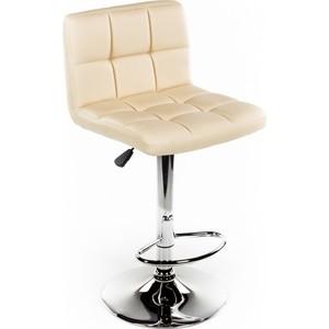 Барный стул Woodville Paskal бежевый