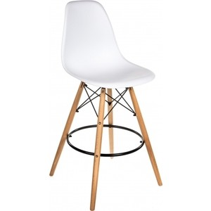 цена на Барный стул Woodville Eames PC-007 белый