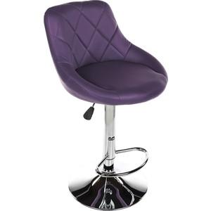 Барный стул Woodville Curt фиолетовый