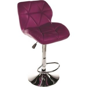 Барный стул Woodville Trio фиолетовый
