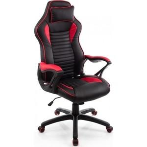 Компьютерное кресло Woodville Leon красное/черное