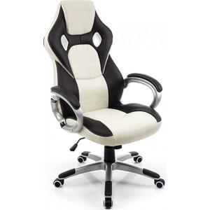 Компьютерное кресло Woodville Navara кремовое/черное