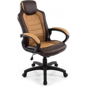 Компьютерное кресло Woodville Kadis коричневое/бежевое