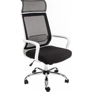 Компьютерное кресло Woodville Lion черно-белое
