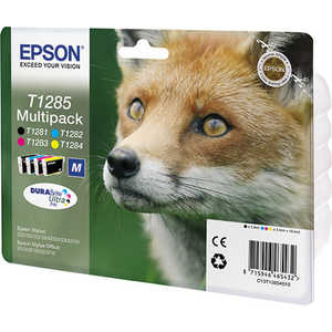 цены Картридж Epson T1285 Multipack (C13T12854012)
