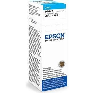 Чернила Epson L120/132/1300/222/312/366/382/486/566/605/655/ голубые 70ml (C13T66424A)