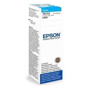 Чернила Epson Stylus Photo L800 голубой (C13T67324A)