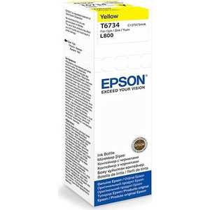 Чернила Epson Stylus Photo L800 желтый (C13T67344A)