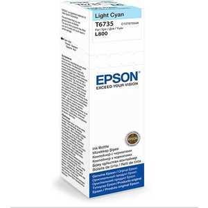 Чернила Epson Stylus Photo L800 светло-голубой (C13T67354A)