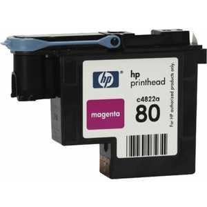Печатающая головка HP №80 для DesignJet 1050c/1055cm (C4822A) картридж hp c4871a черный для designjet 1050c 1055cm