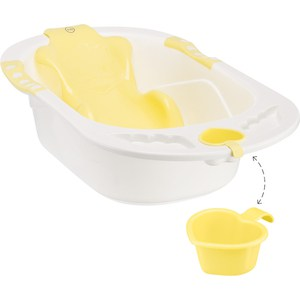 Ванна детская Happy Baby BATH COMFORT yellow (4690624021039)