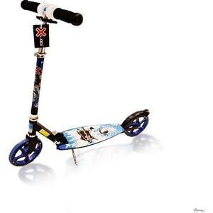 Самокат 2-х колесный Amigo Deville синий недорого