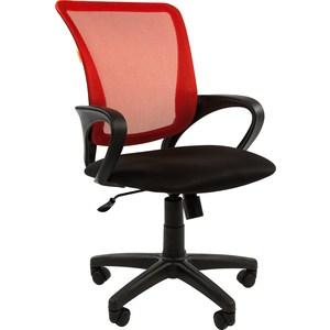 Офисное кресло Chairman 969 TW красный цена 2017